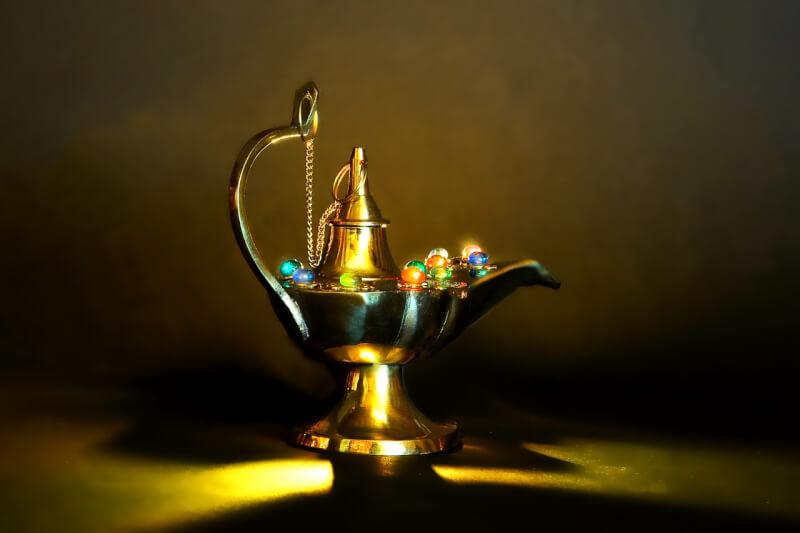魔法の中古ランプ